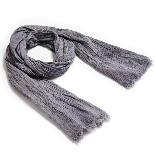 Organic Gypsy Scarf // Weathered Moonstone