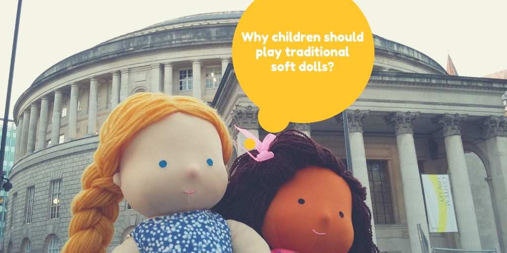 Why children (boys and girls!) should play traditional soft dolls