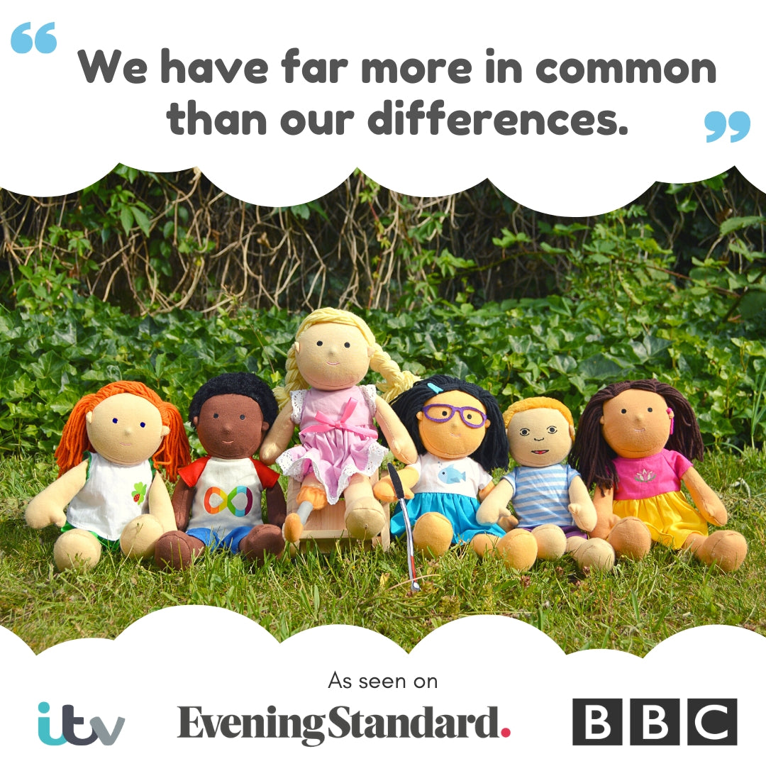 One Dear World inclusive disability dolls for all