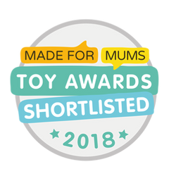 Made for Mums Toy Award shortlisted