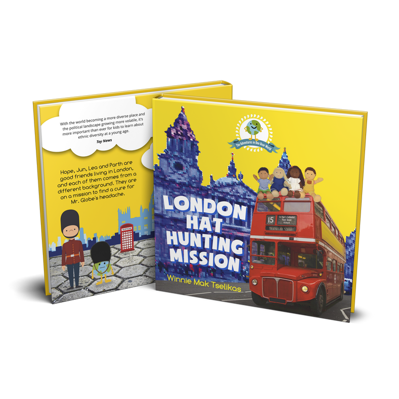 """London Hat Hunting Mission"" Book"