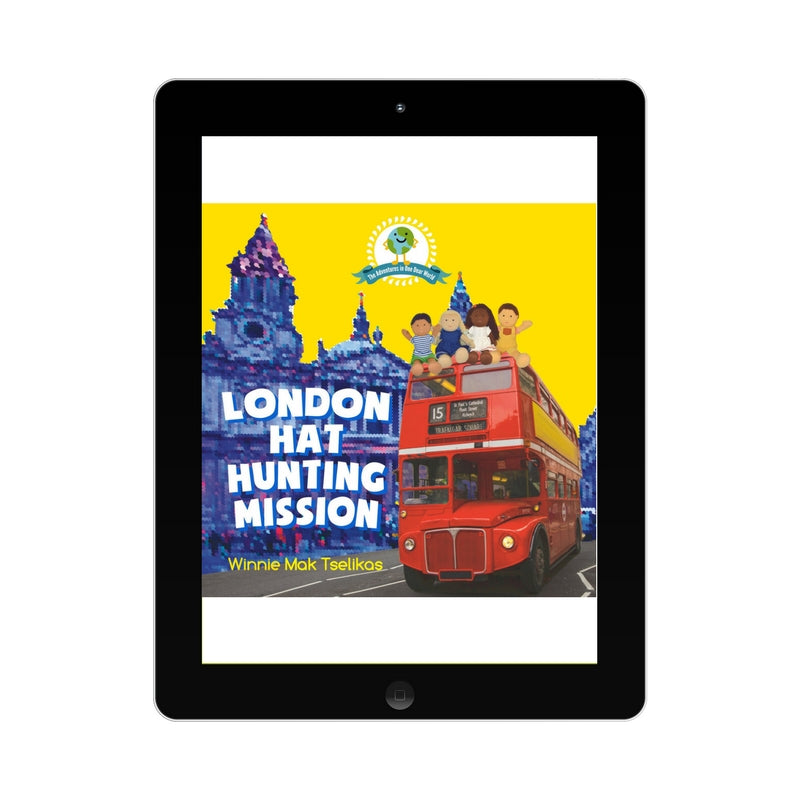 """London Hat Hunting Mission"" eBook"