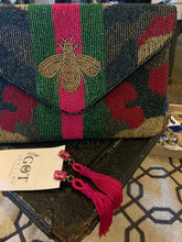 Camo Beaded Bee Bag