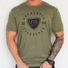 Classic LFTD. Shield Tee - Military Green