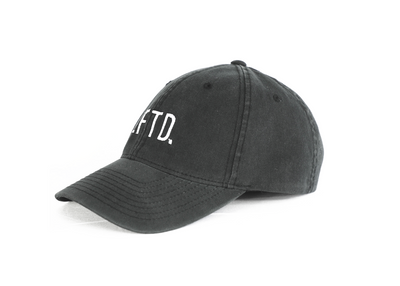LFTD. Dad Hat - BLACK