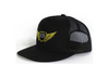 LFTD. Wings Trucker Snapback - BLACK