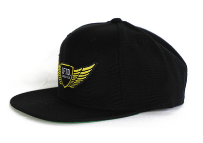 LFTD. Wings Snapback - BLACK