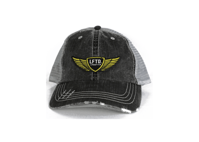 Lifestyle Trucker Dad Hat - CHARCOAL