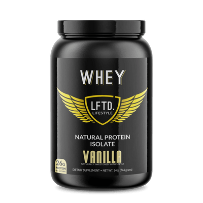 Whey Natural Protein Isolate Vanilla Flavor