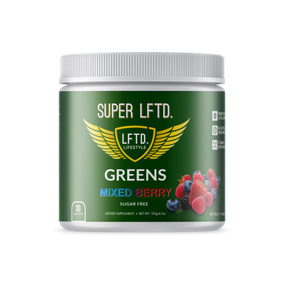 Super LFTD. Greens - Mixed Berry