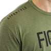 FIGHTER Short Sleeve - MILITARY GREEN