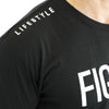FIGHTER Short Sleeve - BLACK