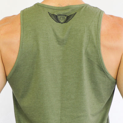 Classic LFTD. Lifestyle Tank - MILITARY GREEN