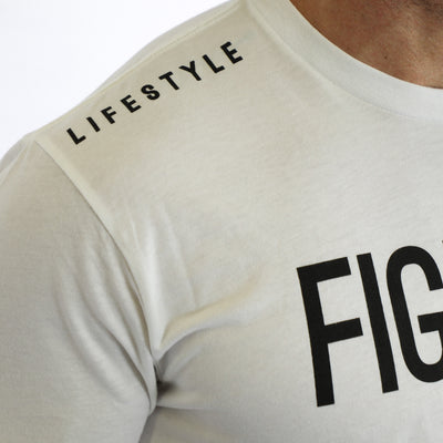 FIGHTER Short Sleeve - WHITE