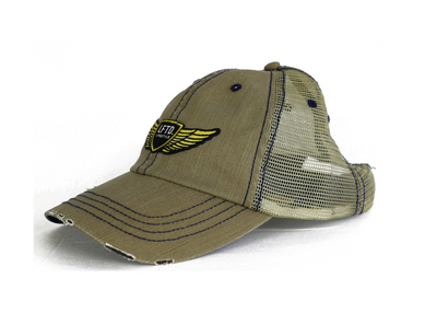 Lifestyle Trucker Dad Hat - KHAKI