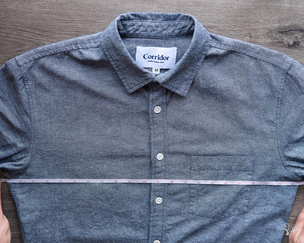 Measurement Corridor NYC Shirt - Chest