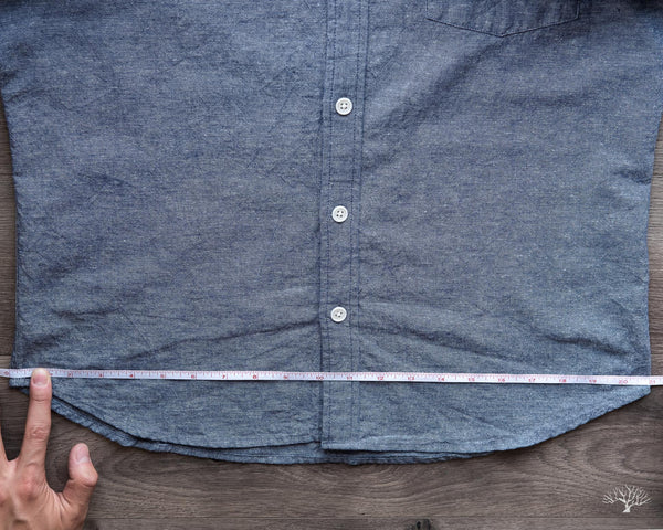 Measurement Corridor NYC Shirt - Bottom
