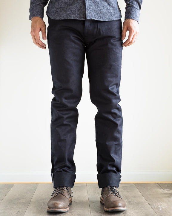 Shadow Selvedge 3Sixteen CT-120X Classic Tapered Mens Jeans