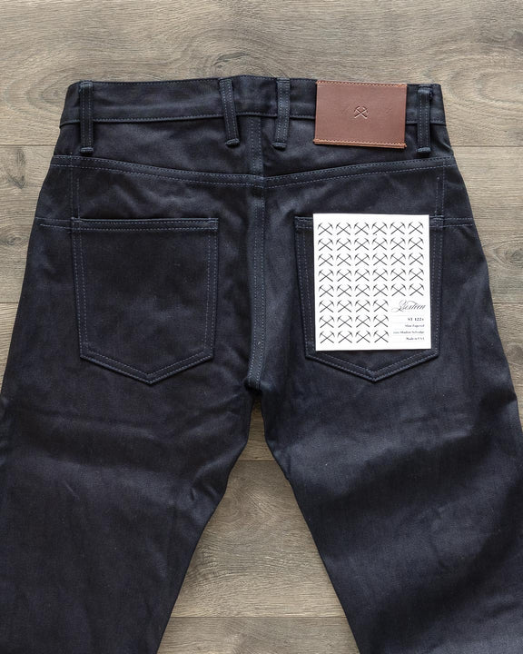 CT-122x Classic Tapered Lightweight Shadow Selvedge Denim