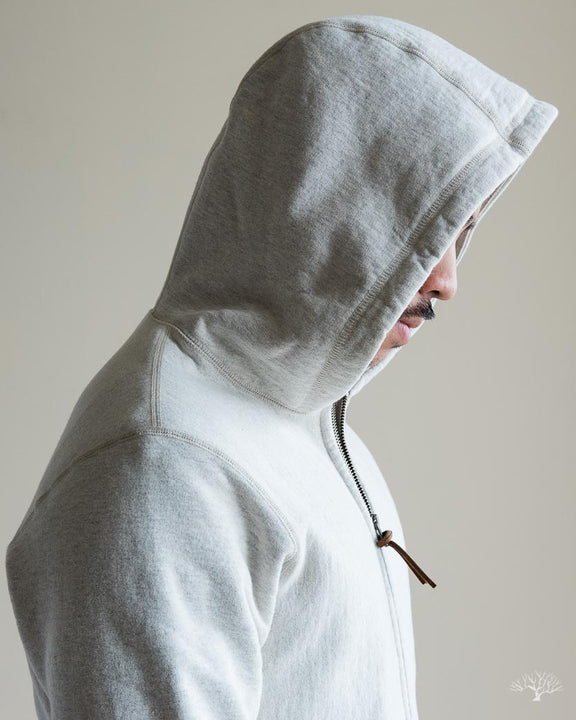 Heavyweight Zip Hoody - Oatmeal