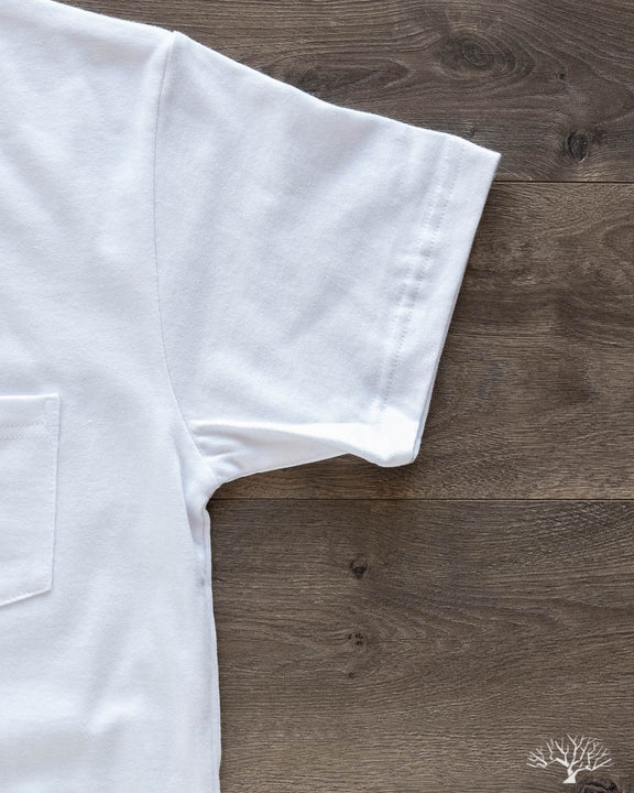 Heavyweight Pocket Tee - White