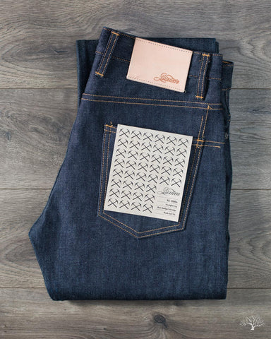 SL-100x Straight Leg Indigo Selvedge Denim