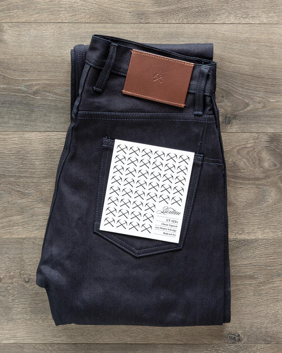 ST-122x Slim Tapered Lightweight Shadow Selvedge Denim