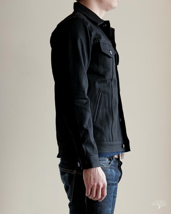 Type 3s Denim Jacket - Double Black Selvedge