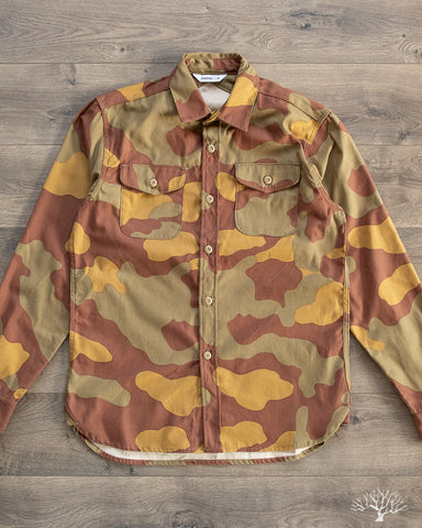 CPO Shirt - Camo Back Satin