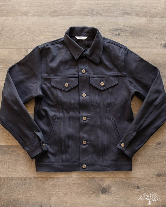 DJ-120x - Shadow Selvedge Type 3s Denim Jacket