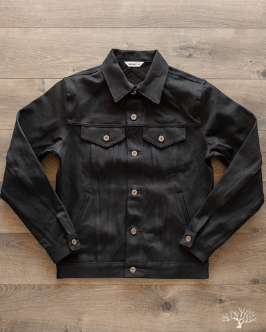 DJ-220x - Double Black Selvedge - Type 3s Denim Jacket
