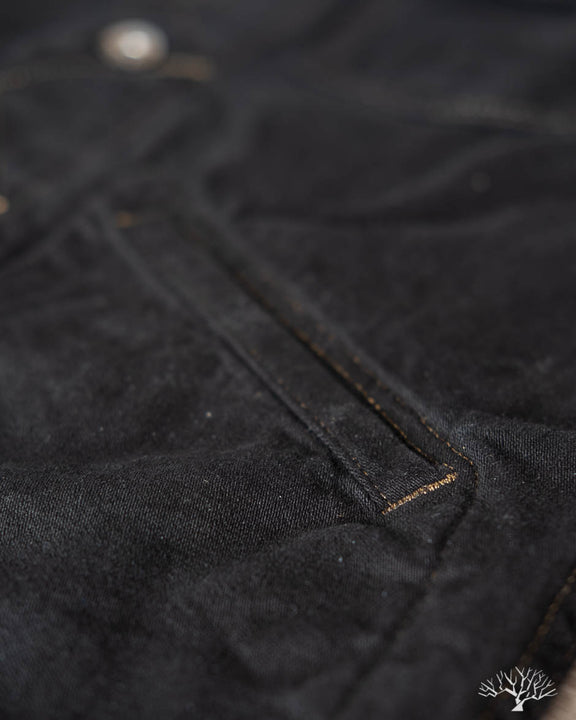 Ranch Jacket - Overdyed Black Indigo Nep