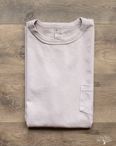 Garment Dyed Pocket Tee - Ash