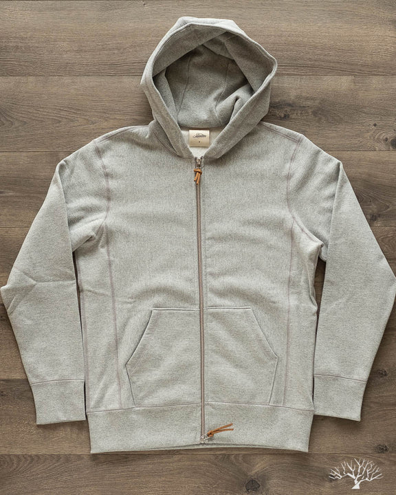 Heavyweight Zip Hoody - Grey