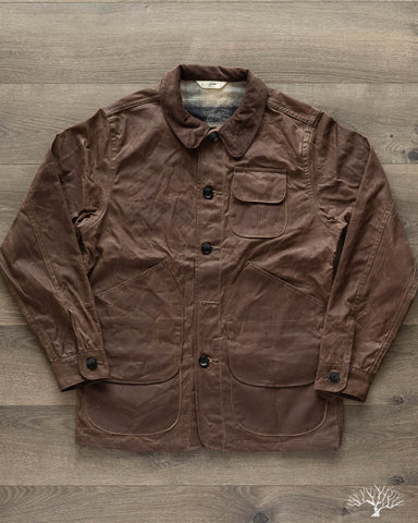 Hunting Jacket - Field Tan Waxed Canvas