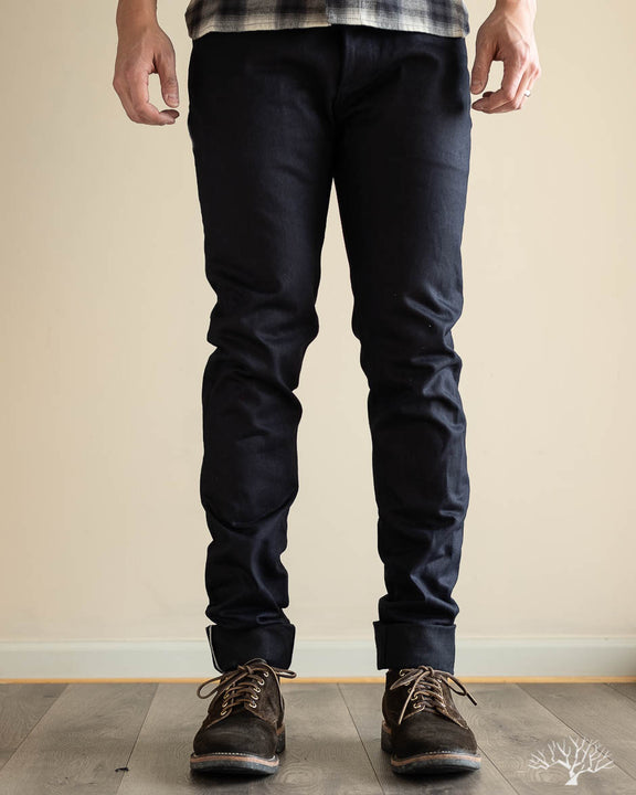 NT-120x Narrow Tapered Shadow Selvedge Denim