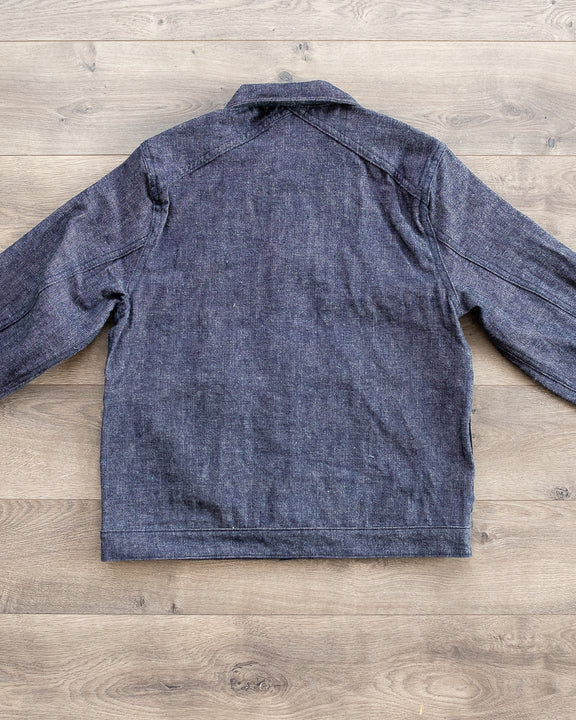 Type 1s Denim Jacket - Indigo/White