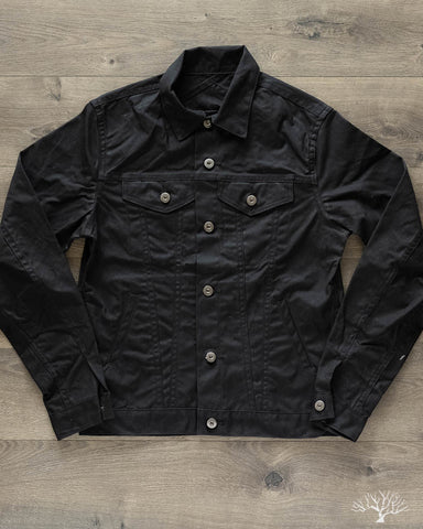 Waxed Canvas Type 3s Jacket - Black