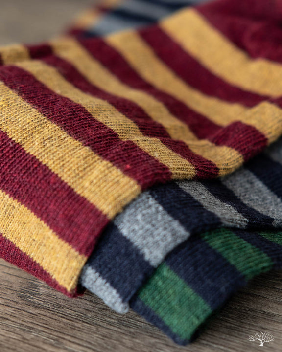 Rugby Stripe Socks - FW18 Three-Pack