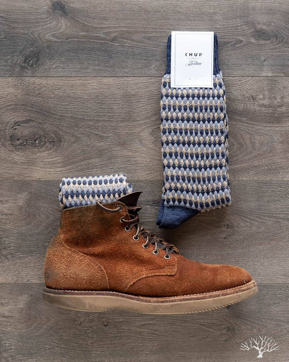 CHUP for 3sixteen Pineapple Forest Sock - Indigo