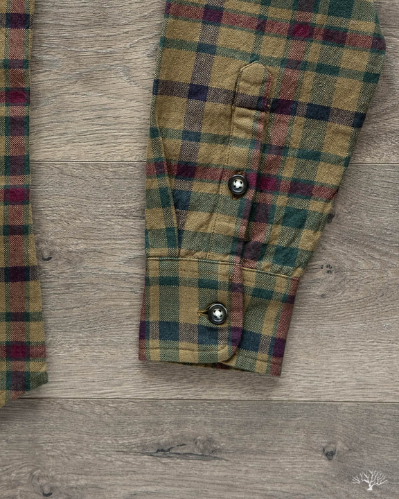 Brown Heritage Plaid Long-Sleeve Shirt