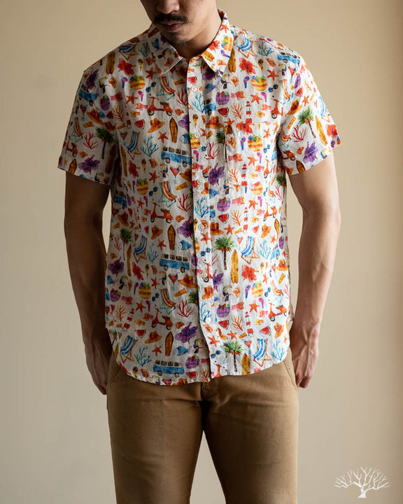 Hot Fun Summertime Short-Sleeve Shirt