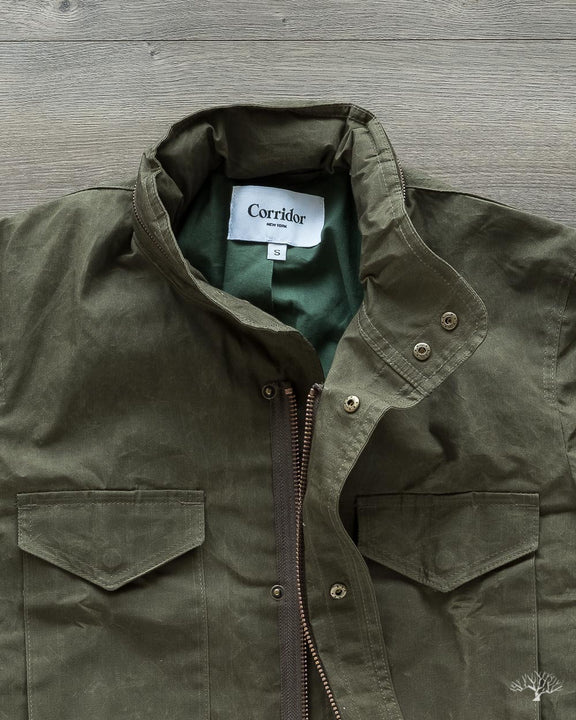 Waxed Cotton M65 - Olive