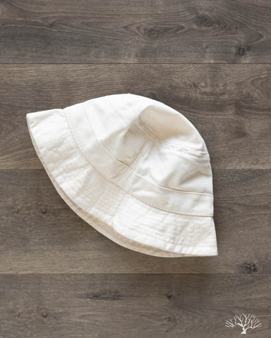 Natural Canvas Bucket Hat