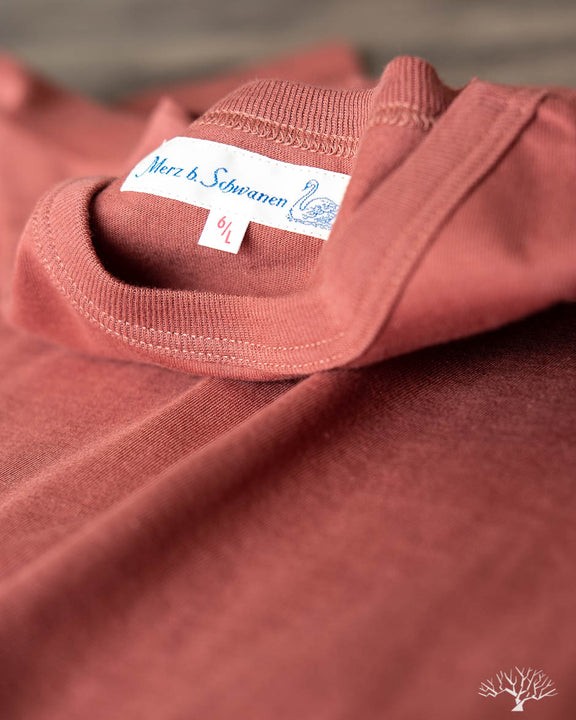 1950s Organic Cotton Crew Neck Tee - Copper