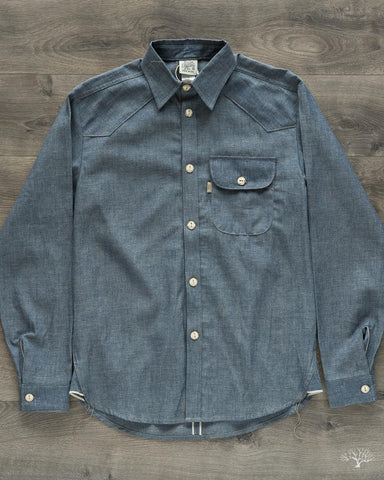 Felon 002 Button Down Denim Shirt