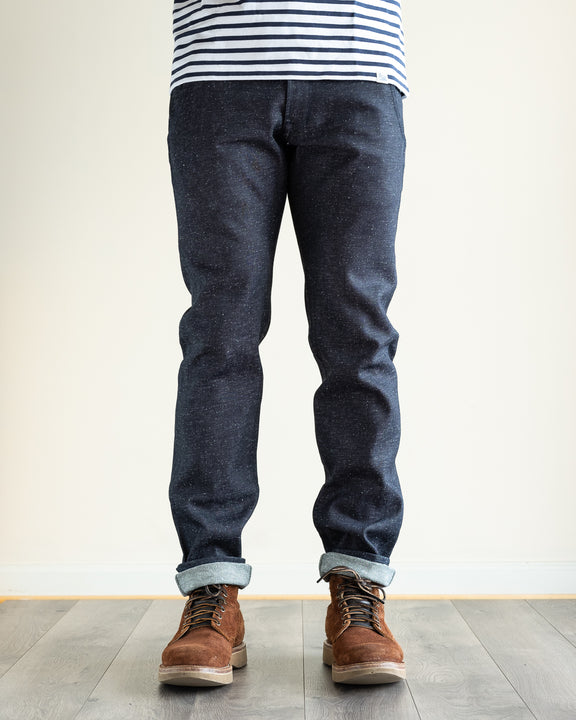 Japanese Nep Denim Flight Trousers