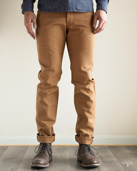 American Duck Canvas Flight Trousers - Camel