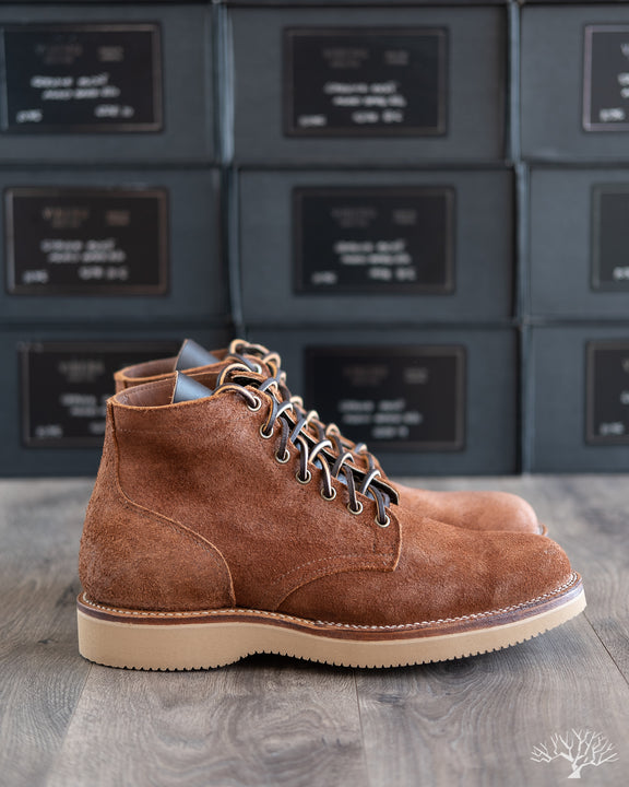 """Marvington"" Service Boot - Aged Bark Roughout - 1035"