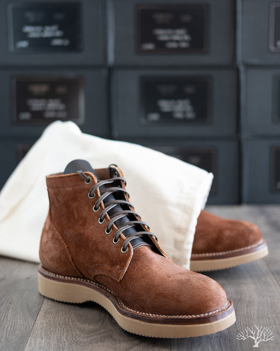 Service Boot - Aged Bark Roughout - 1035